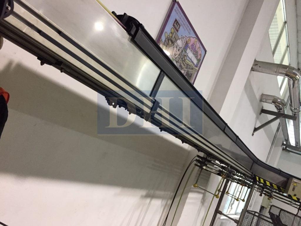 Cải tạo băng tải gió cho dây chuyền chai PET