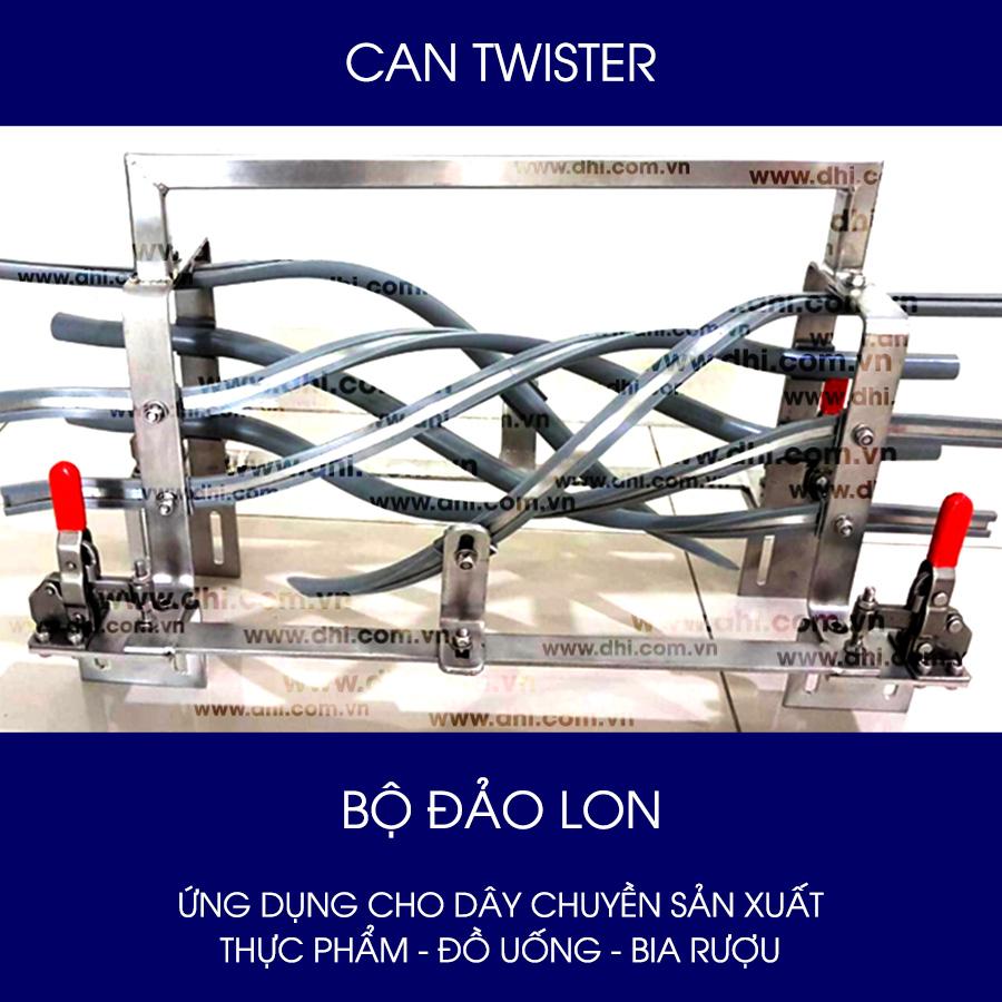 Bộ Đảo Lon (Can Twister) cho dây chuyền sản xuất
