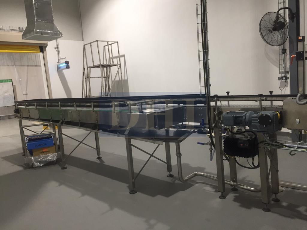 Băng tải cho nhà máy nước giải khát