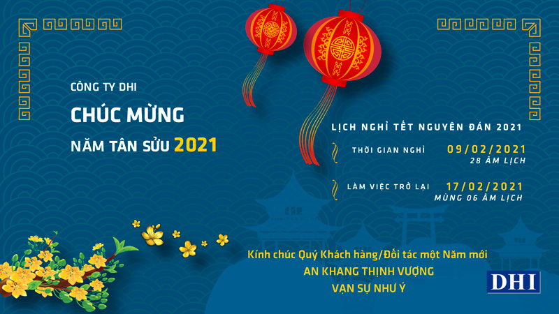 Happy Lunar Year 2021 - DHI